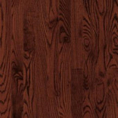 Bruce Bayport Oak Cherry 3/4 in. Thick x 2-1/4 in. Wide x Varying Length Solid Hardwood Flooring (20 sq. ft. / case)-CB1328 300514976
