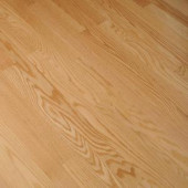Bruce Bayport Oak Low Gloss Natural 3/4 in. Thick x 2-1/4 in. Wide x Varying Length Solid Hardwood Flooring (20 sq. ft. /case)-CB1320LG 300514861