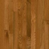 Bruce Plano Oak Gunstock 3/4 in. Thick x 2-1/4 in. Wide x Random Length Solid Hardwood Flooring (20 sq. ft. / case)-C111 206213570