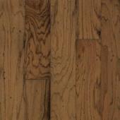 Bruce Take Home Sample - Distressed Oak Gunstock Engineered Hardwood Flooring - 5 in. x 7 in.-BR-057416 203190382