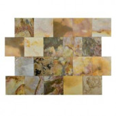 FastStone+ Indian Autumn 6 in. x 6 in. Slate Peel and Stick Wall Tile (5 sq. ft. / pack)-70-045-02-01 207041336