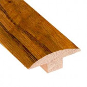 Heritage Mill Oak Old World 3/4 in. Thick x 2 in. Wide x 78 in. Length Hardwood T-Molding-LM6777 203909329