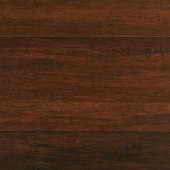 Home Decorators Collection Hand Scraped Strand Woven Sahara 3/8 in. T x 5-1/5 in. W x 36.02 in. L Click Lock Bamboo Flooring (26.001 sq. ft. /case)-HL655H 300011064
