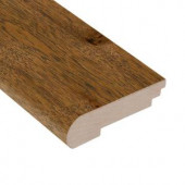 Home Legend Forest Trail Hickory 3/8 in. Thick x 3-1/2 in. Wide x 78 in. Length Hardwood Stair Nose Molding-HL188SNH 205326166