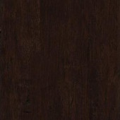 Home Legend Hand Scraped Distressed Strand Woven Russet 3/8 in. x 5-1/8 in. x 36 in. Click Lock Bamboo Flooring (25.625 sq.ft./case)-HL263H 206458113