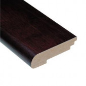 Home Legend Walnut Java 1/2 in. Thick x 3-1/2 in. Wide x 78 in. Length Hardwood Stair Nose Molding-HL128SNP 202064590