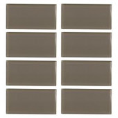 Jeffrey Court Fieldstone Gloss 3 in. x 6 in. Glass Wall Tile (8-pieces / pack)-99515 202663561