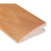 Millstead Unfinished Oak 3/4 in. Thick x 2-1/4 in. Wide x 78 in. Length Hardwood Reducer Molding-LM4366 100156982