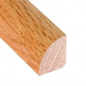 Millstead Unfinished Oak 3/4 in. Thick x 3/4 in. Wide x 78 in. Length Hardwood Quarter Round Molding-LM4365 100150019