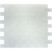 MS International Arctic Ice 12 in. x 12 in. x 8 mm Glass Mesh-Mounted Mosaic Tile-THDWG-CR-AI-8MM 202194718