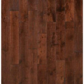 Nuvelle French Oak Pinot Noir 5/8 in. Thick x 4-3/4 in. Wide x Varying Length Click Solid Hardwood Flooring (15.5 sq. ft. /case)-NV5SL 206634222