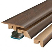 Pergo Antique Cherry 3/4 in. Thick x 2-1/8 in. Wide x 78-3/4 in. Length Laminate 4-in-1 Molding-MG001236 206961450