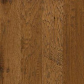 Shaw Western Hickory Espresso 3/8 in. T x 5 in. W x Random Length Click Engineered Hardwood Flooring (29.49 sq. ft. / case)-DH84000879 206523962