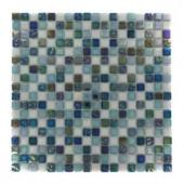 Splashback Tile Capriccio Scafati 12 in. x 12 in. x 8 mm Glass Mosaic Floor and Wall Tile-CAPRICCIO SCAFATI GLASS TILE 204279043