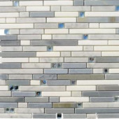 Splashback Tile Fable Fairy Godmother 11-1/4 in. x 12 in. x 10 mm Polished Marble Mosaic Tile-FBLFRYGMTR 206822981