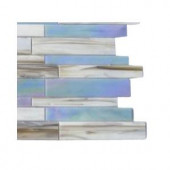 Splashback Tile Matchstix Fate 3 in. x 6 in. x 8 mm Glass Mosaic Floor and Wall Tile Sample-C2C2 GLASS TILE 204278949