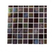Splashback Tile Rainbow Fish Glass Mosaic Floor and Wall Tile - 3 in. x 6 in. x 8 mm Tile Sample-R3B11 GLASS TILE 203288353