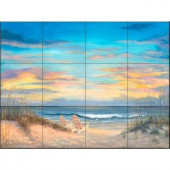 The Tile Mural Store Front Row Seats 17 in. x 12-3/4 in. Ceramic Mural Wall Tile-15-2555-1712-6C 205842890